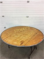 5' Folding Round Banquet Table