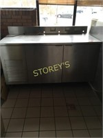 Atlas 2dr Refrigerated Work Table