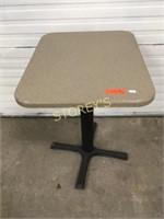 20 x 24 Single Pedestal Dining Table