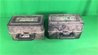 2- Case Gard 100 Shotgun Ammo Box 12Ga.(Empty)