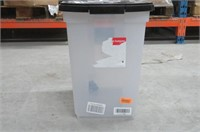 """""""As Is"""" Rubbermaid Storage Container with Wheels"""