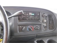 2001 DODGE RAM VAN 74165 KMS