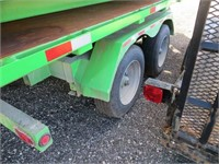 2017 WEBER LANE ROLL OFF TRAILER AND BOX