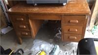 5- Drawer Wooden Desk
