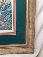 """Framed Signed Roy Kerswill """"Sound of Music"""" Print"""