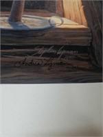"""Signed Stephen lyman """"Evening Light"""" 34/325"""