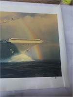 """Signed William Phillips """"Out of The Squall Line"""""""