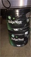 5- Rolls Of Ridge Vent