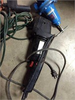 Assorted cords, blow torch attachment, ect