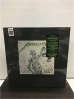 METALLICA JUSTICE FOR ALL DELUXE BOX 11CDS; 6LPS;