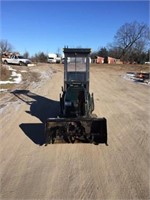CRAFTSMAN 25 HP LAWN TRACTOR WITH BLOWER
