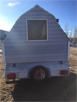 TRAILER CONVERTED TO ICE SHACK - NO OWNERSHIP