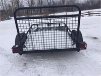 .2004 SNOW BEAR TRAILER WITH RAMP - AS NEW