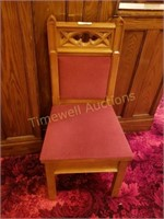Beautiful carved oak chair