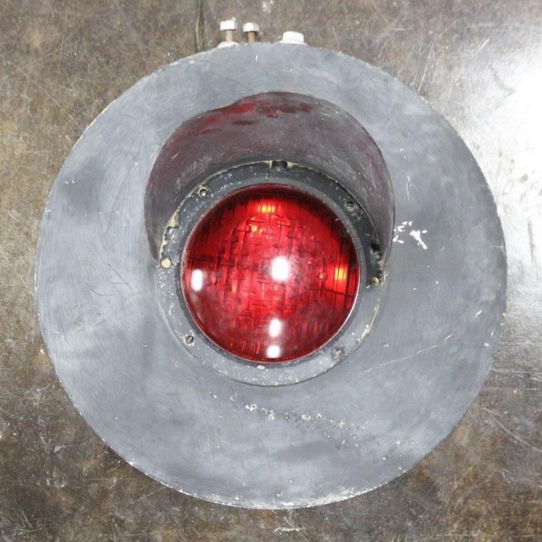 Vintage Railroad Crossing Red Warning Light w/ | Idaho