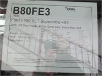 2015 FORD F150 XLT SUPERCREW 4X4