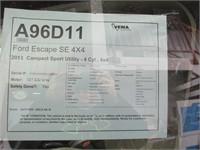 2013 FORD ESCAPE SE 4X4