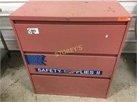 3 Drawer File Cabinet - Rough