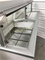 Hussmann 12 Tub Ice Cream Dipping Cabinet