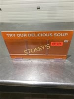 Delicious Soup Sign