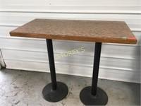 Bar Height Table - 48 x 24