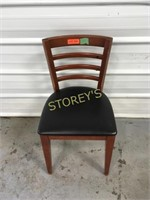 Ladder Back Cushioned Dining Chair