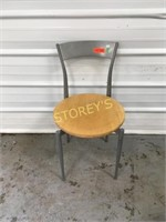 Metal Back Dining Chair