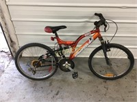 Super Cycle Burner Orange Bike