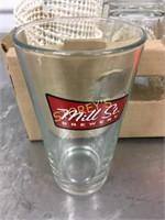 Mill Street Beer Glasses x 10