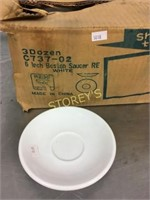 """Box of 6"""" Saucers"""