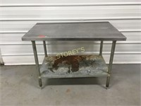 30 x 48 S/S Work Table