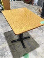24 x 30 Bamboo Dining Table