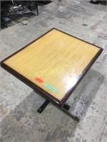 24 x 30 Bamboo Inlay Table