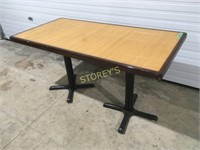 56 x 28 Bamboo Inlay Dining Table