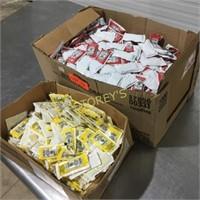 Asst Ketchup & Mustard Packets