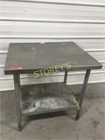 S/S Work Table - 3' x 30