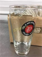 Lake of Bays Beer Glasses x 12