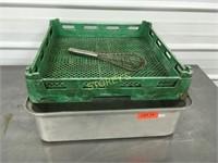 Dish Rack & LG Roasting Pan