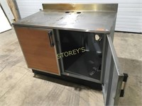 """S/S 2 Dr Cabinet w/ BS - 4' x 30"""""""