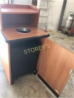 HD Trash Station w/ Rolling Garbage