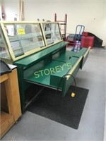 """QBD 90"""" Refrigerated Curved Display Case"""