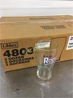 20oz Smirnoff Beer Glasses x 48