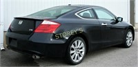 2008 Black Honda Accord Coupe - 152,591kms