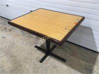 36 x 30 Bamboo Inlay Dining Table