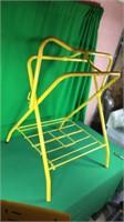 Yellow Saddle Stand