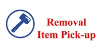 ITEM PICK-UP / REMOVAL
