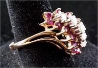 14k Yellow Gold Ruby Ring CRV $3,900