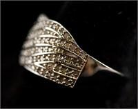 0.70ct Diamond Band Ring CRV $600