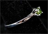 0.30ct Green Diamond Ring CRV $1900