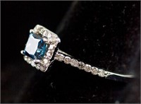 0.56ct & 0.30ct Diamond Ring CRV $3600